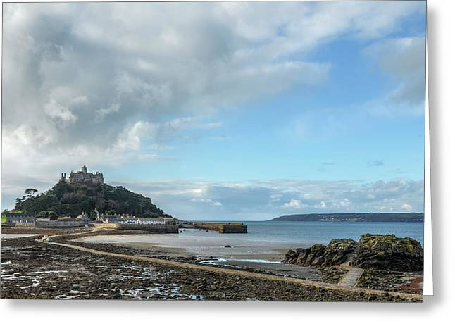 St michael greeting cards page 3 of 64 fine art america st michaels mount cornwall greeting card m4hsunfo