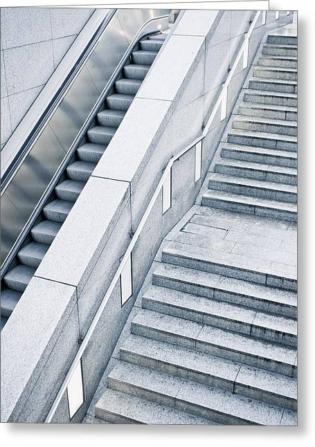 Stairs Greeting Card