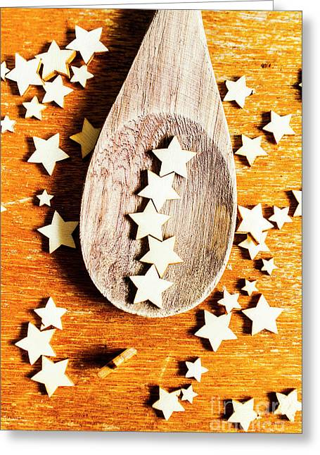 5 Star Catering And Restaurant Award Greeting Card