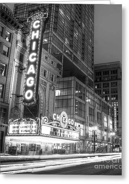 State Street In Chicago Greeting Card by Twenty Two North Photography