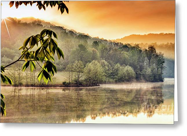 Stonewall Resort Sunrise Greeting Card by Thomas R Fletcher