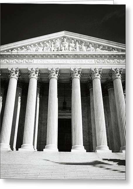 Supreme Court Of The United States Of America Greeting Card