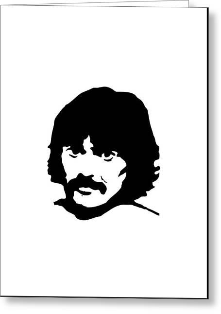 The Beatles Greeting Card by Caio Caldas