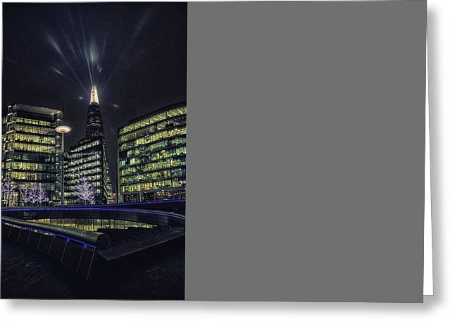 The Shard Greeting Card by Martin Newman