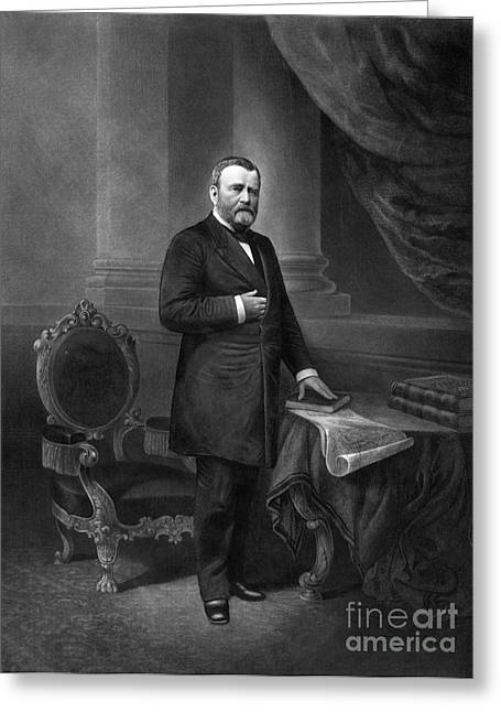Ulysses S. Grant, 18th American Greeting Card by Photo Researchers