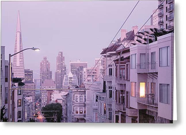 Usa, California, San Francisco Greeting Card by Panoramic Images