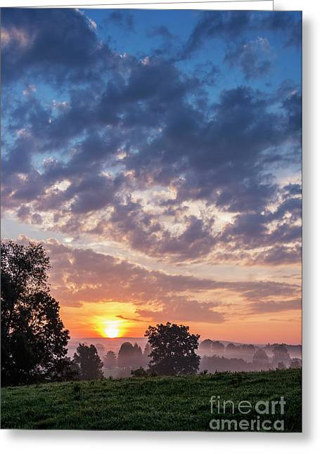 West Virginia Sunrise Greeting Card by Thomas R Fletcher