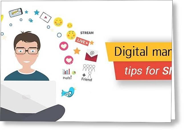 5 Winning Digital Marketing Strategies For Smes Greeting Card by Marsha Sarv