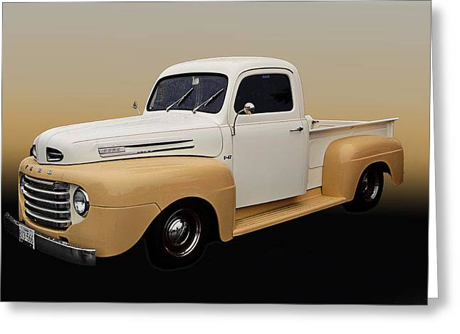 50 Ford Pickup Greeting Card