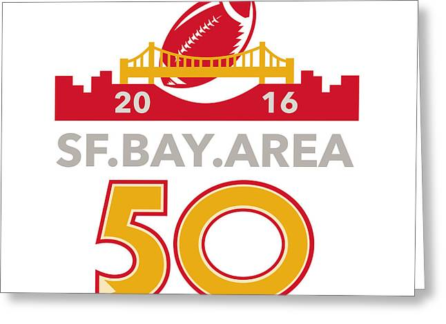 50 San Francisco Pro Football Championship Greeting Card