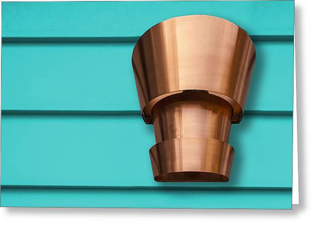 50 Shades Of Copper Greeting Card