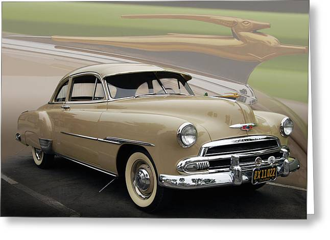 51 Chevrolet Deluxe Greeting Card