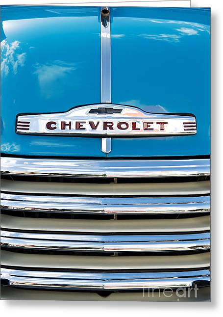 51 Chevrolet Thriftmaster Greeting Card