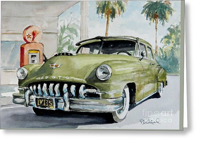 '52 Desoto Greeting Card by William Reed
