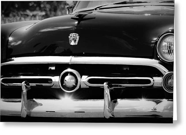 '52 Ford Customline  Greeting Card by Dennis Nelson
