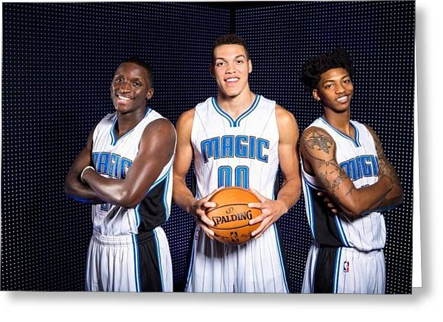 52273 Nba Basketball Sports Orlando Magic Orlando Magic 748x499 Greeting Card