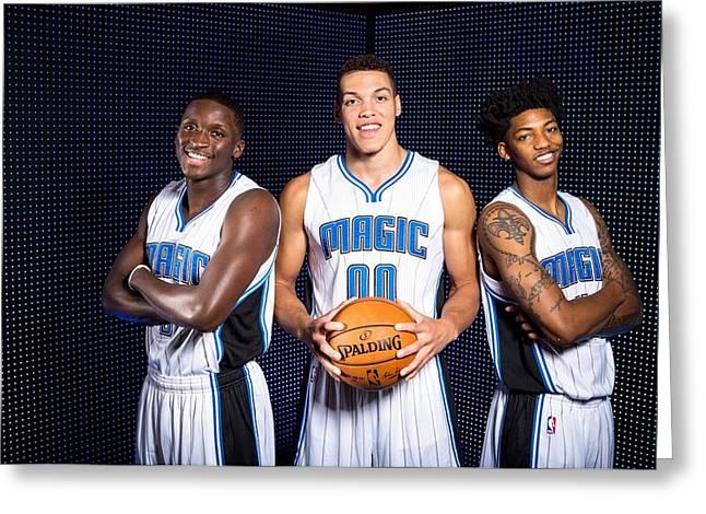 52273 Nba Basketball Sports Orlando Magic Orlando Magic Greeting Card