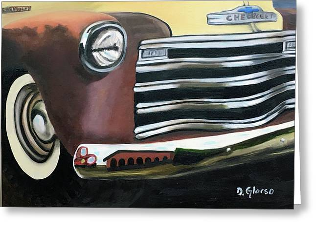 53 Chevy Truck Greeting Card