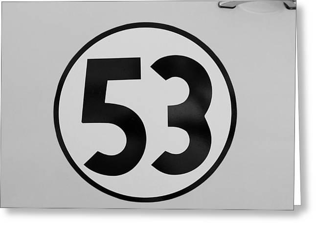 53 Herbie B W Greeting Card