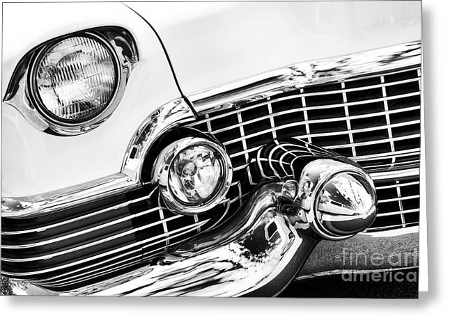 54 Chrome Greeting Card by Tim Gainey