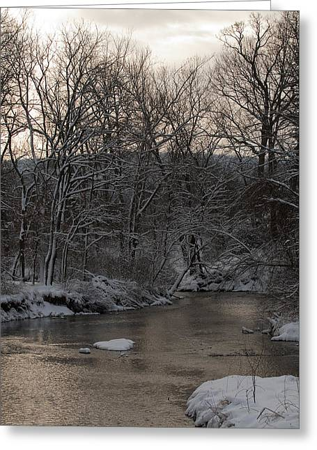 Winter In Virginia Greeting Card by Kevin Blackburn