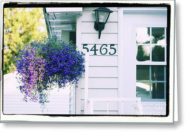 Greeting Card featuring the photograph 5465 -h by Aimelle