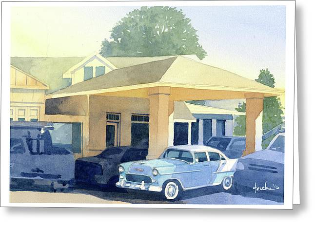 '55 Belaire Greeting Card