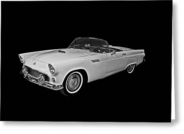 Greeting Card featuring the photograph 55 T Bird by Gary Smith