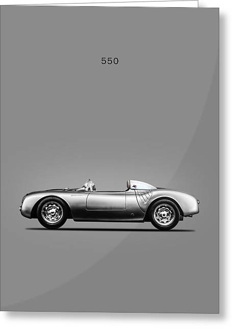550 Spyder Greeting Card