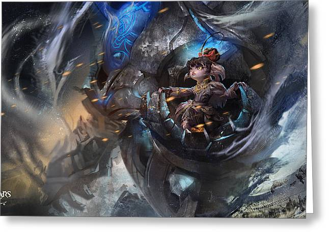 55804 Guild Wars 2 Greeting Card by F S