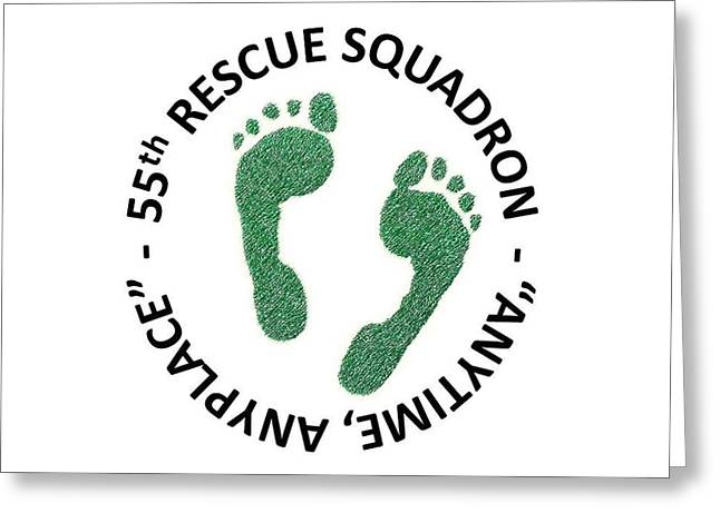 55th Rescue Squadron Greeting Card