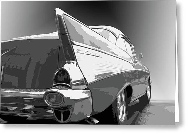 57 Chevy Greeting Card