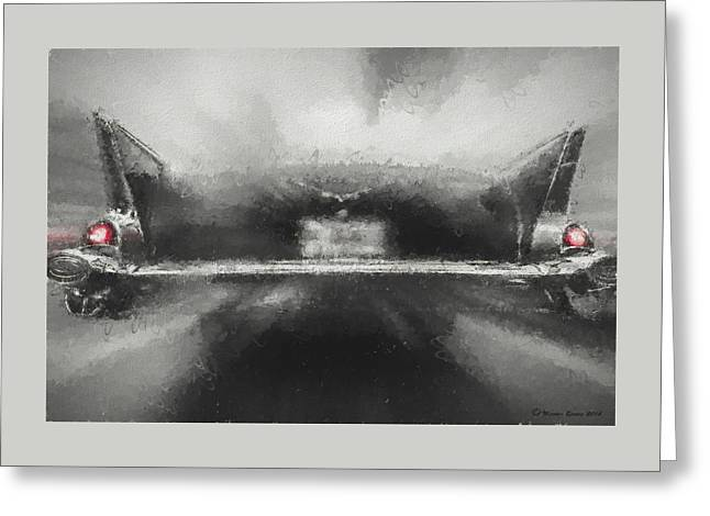 57' Chevy Mood Greeting Card
