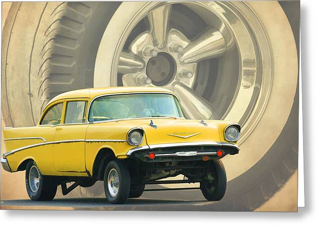57 Gasser Greeting Card
