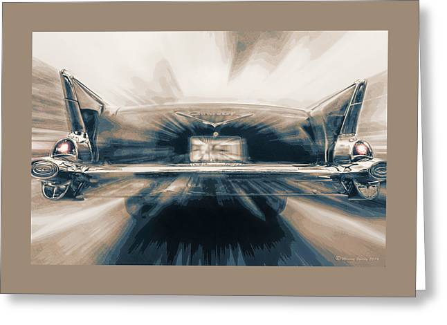 57' Speed Dream Greeting Card by Marvin Spates