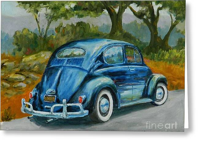 57 Vee Dub Greeting Card by William Reed
