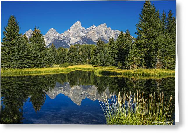 #5700 - Shwabakers Landing, Wyoming Greeting Card