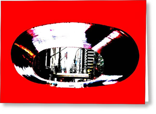 57th Street  Greeting Card by Funkpix Photo Hunter