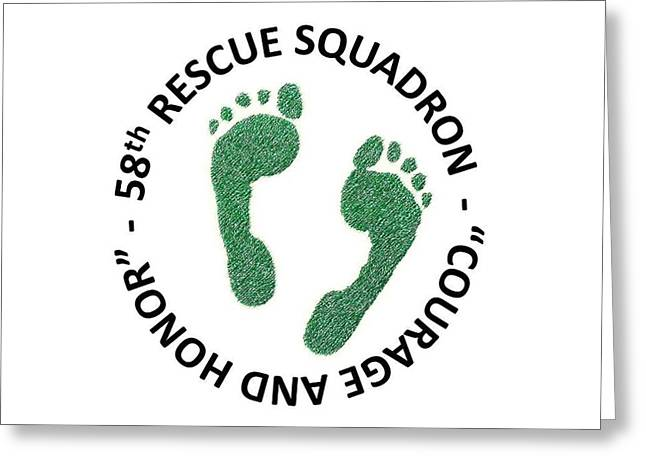58th Rescue Squadron Greeting Card