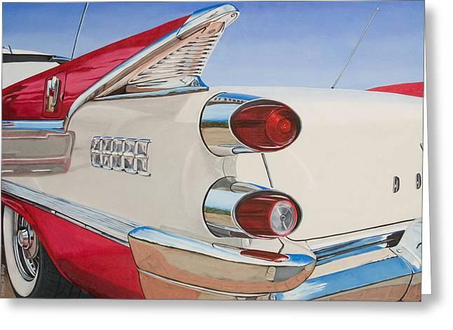 59 Dodge Royal Lancer Greeting Card