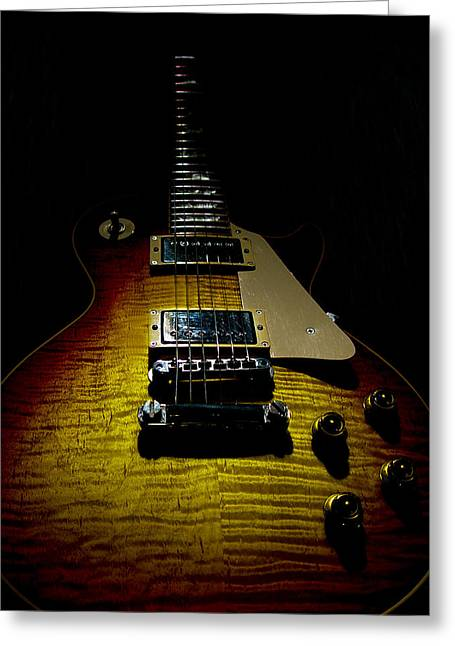 59 Reissue Guitar Spotlight Series Greeting Card