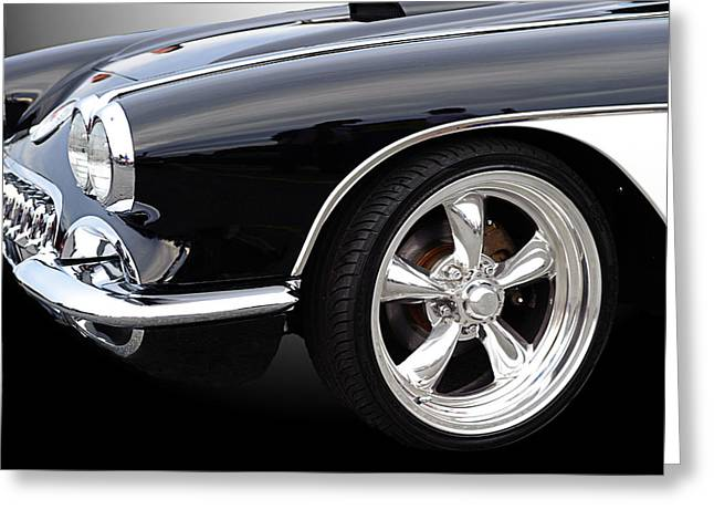 59 Vette Greeting Card