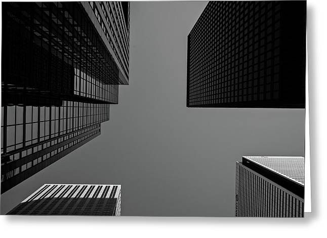 Abstract Architecture - Toronto Greeting Card