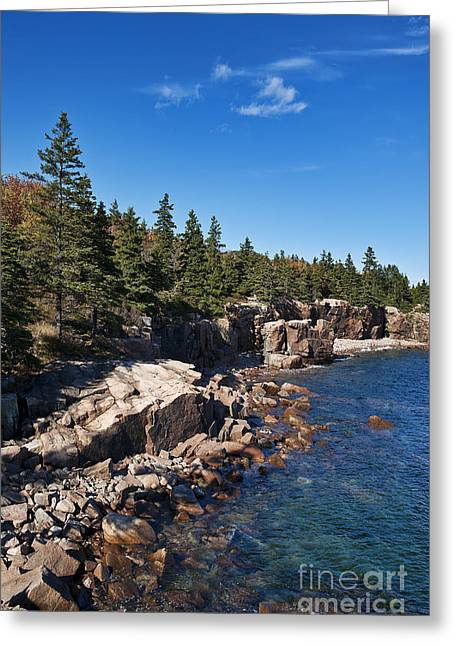 Mt. Desert Island Greeting Cards - Acadia National Park Greeting Card by John Greim