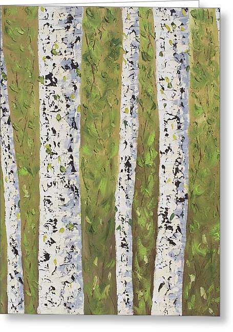 Provence Village Greeting Cards - Aspen trees Colorado Greeting Card by Frederic Payet