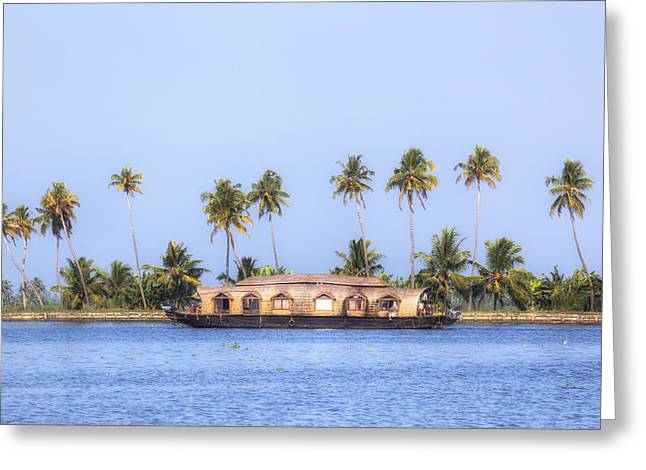 Backwaters Kerala - India Greeting Card by Joana Kruse