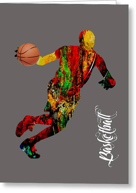 Basketball Collection Greeting Card