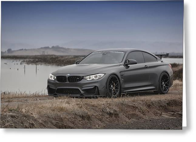 Bmw M4 Greeting Card