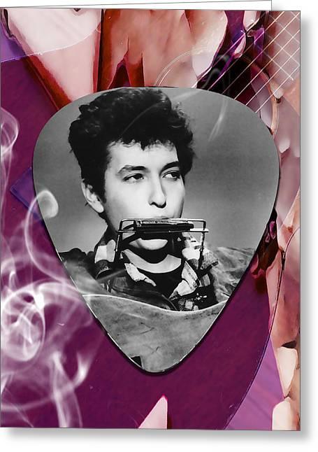 Bob Dylan Art Greeting Card