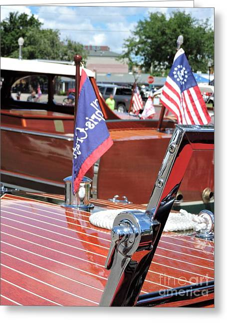 Chris Craft Runabout Greeting Card